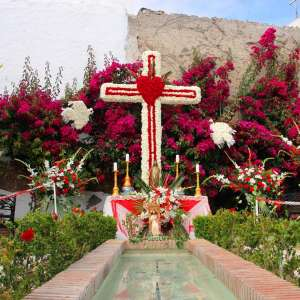 The Cruces de Mayo festival in Estepona