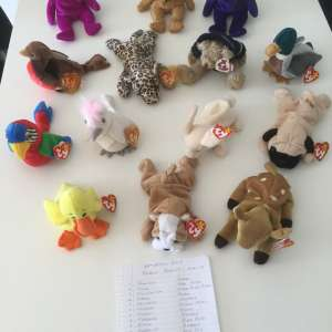 For sale: Beanie Babies - €10