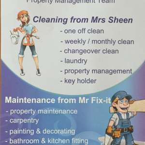 Mrs Sheen & Mr Fix-it