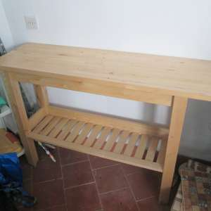 For sale: Butchers type kitchen work table - €15