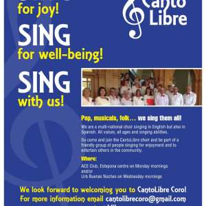 Like to sing? Come and join our friendly choir