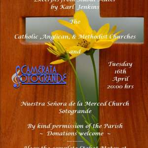 Concert at Sotogrande Church on Tuesday 16 April