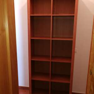 For sale: Cupboard/Bookcase. Measuring 77cm wide, 196cm high, and 31cm deep - €40