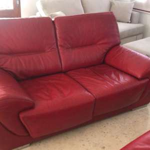 For sale: Leather sofas x 2