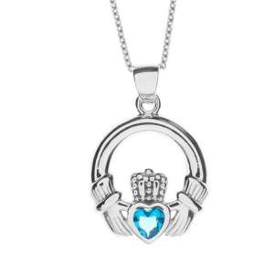 Lost: Lost - Sterling Silver Claddagh Necklace