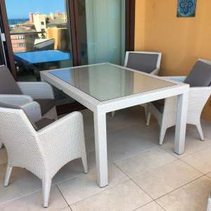 For sale: Garden Furniture - Cream Loom Fibre - €999