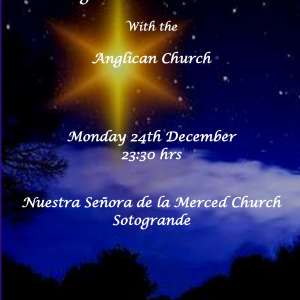 Christmas Eve Midnight Communion at Sotogrande Church
